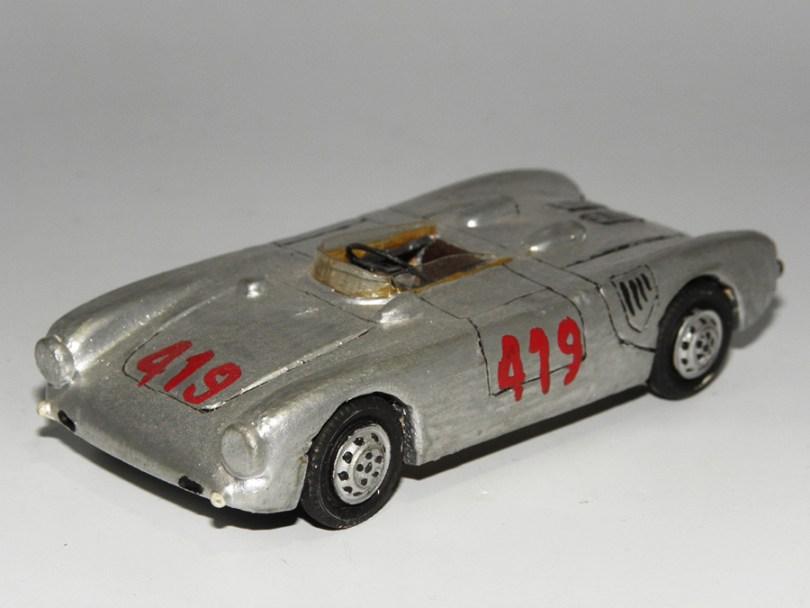 RD Marmande Porsche 1500 sport monoposte Mille Miles 1956