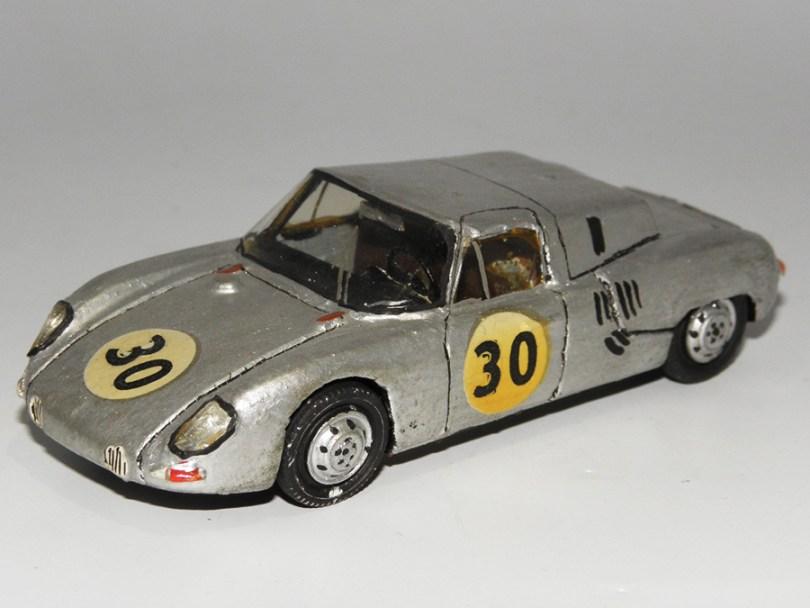 RD Marmande Porsche 1500 sport coupé Le Mans 1962
