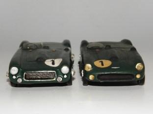 RD Marmande Lagonda V12 Le Mans 1955 les deux versions !