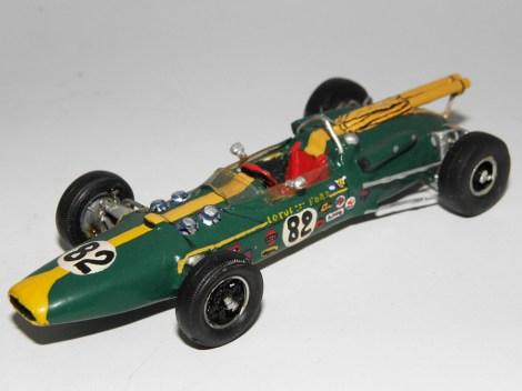 RD Marmande Lotus Ford victorieuse à Indianapolis avec Jim Clark