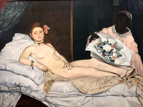 Edouard Manet Olympia (l'originale !)