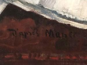 """Paul Gauguin """"copie de l'Olympia de Manet"""" (1891)"""