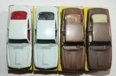 Solido Alfa Romeo 2600 les 4 variantes d'intérieur