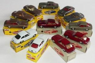 Solido Alfa Romeo 2600 (variante de phares moulés) et jantes en acier chromé et variantes !