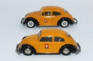 Tekno Volkswagen 1200'54 (vitre arrière ovale) let 1200'63 (vitre arrière rectangulaire)