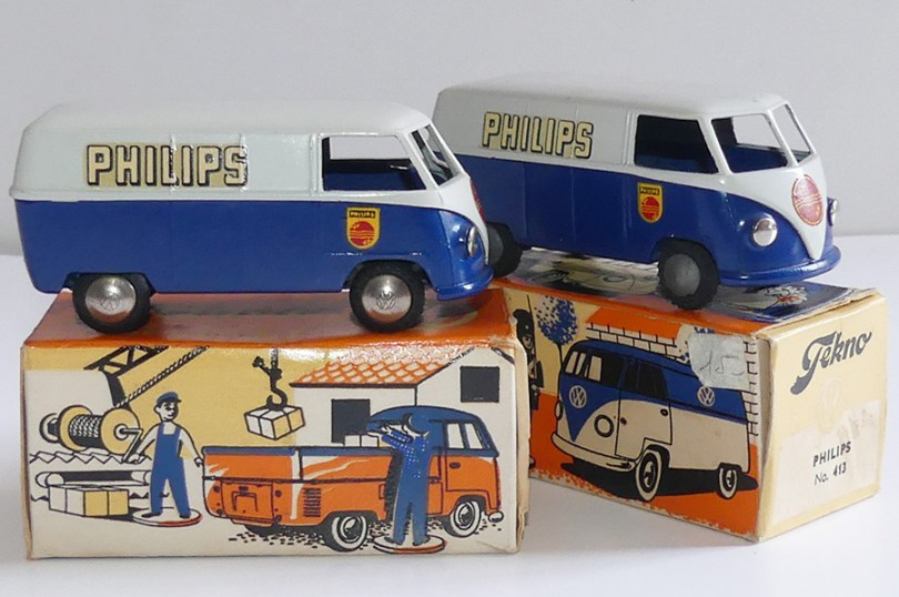"""Tekno Volkswagen Kombi """"Philips"""" (variante de jantes)"""