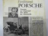 Documentation envoyée à Raymond Daffaure pour réaliser la Lohner-Porsche