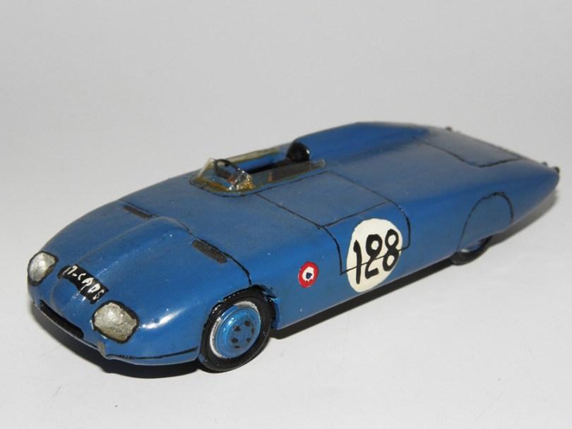 RD Marmande Panhard Monopole 750 records du monde produite en 1965 par Raymond Daffaure