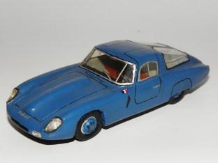 RD Marmande Panhard Monopole coupé sport 1954 miniature produite en 1965 par Raymond Daffaure.