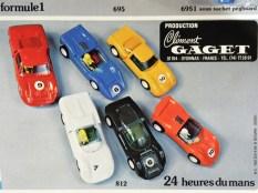 Clé publicité pour la Porsche Carrera 6