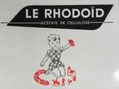 Publicité pour le Rhodoïd produit de Rhône Poulenc