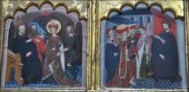Juan de Levi (Saragose) épisodes de la vie de Sainte Catherine d'Alexandrie