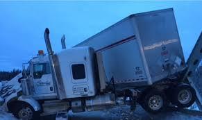 accident de poids lourds sur la Highway vers Allentown