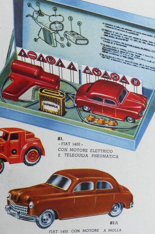 Mercury Fiat 1400 con motore a mola