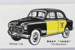 Jadali Seat 1400 taxi de Barcelona