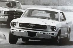 Ford Mustang de Titus saison 1966 vainqueur de la Trans Am