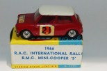 "Corgi Toys BMC Mini Cooper ""S"" RAC rallye promotionnelle pour le journal ""The Sun"""