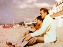 Mon père et moi à Cabourg