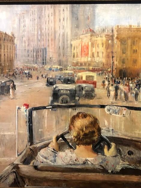 Youri Pimenov La nouvelle Moscou 1937