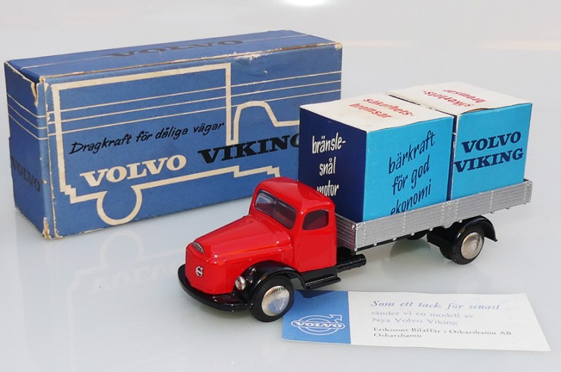 Tekno Volvo N88 promotionel pour Volvo Suède : le dernier modèle de notre collection