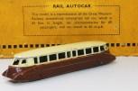 Dinky Toys autorail GWR