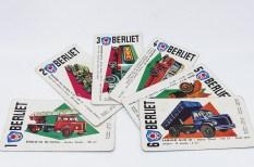 jeux de carte des 7 familles ! la famille Berliet au complet