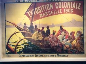 affiche de l'exposition coloniale Marseille 1906