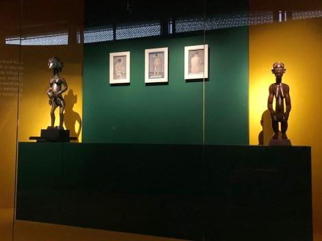 ancienne collection d'art africain de Félix Fénéon avec les trois Seurat