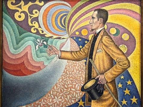 "Paul Signac ""Félix Fénéon"""