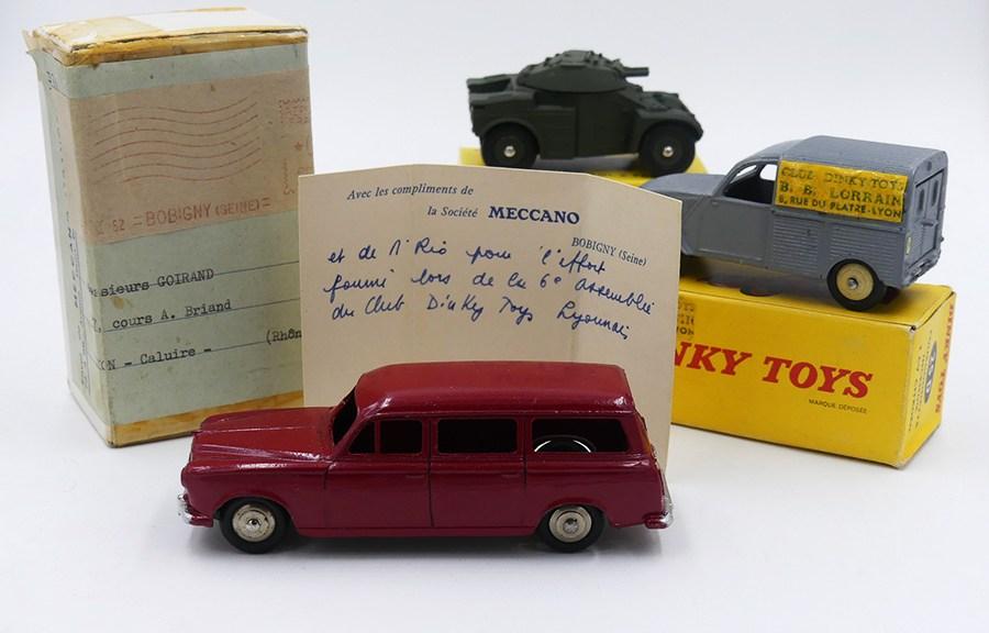 Dinky Toys l'histoire du BB Lorrain en une photo