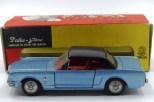 Dalia Tekno Ford Mustang et sa rare boîte vitrine référence 834
