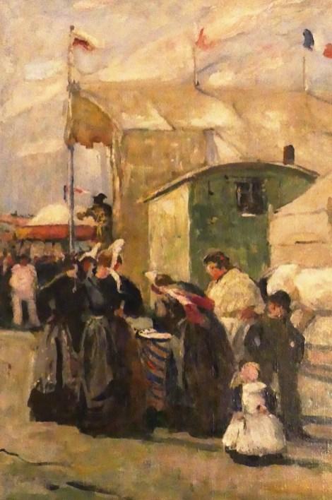 """Lucien Simon """" la bonne aventure"""" 1941"""