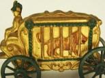 Barclay magnifique attelage hippomobile de cirque typiquement américain