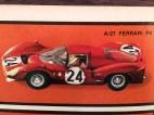 Mebetoys Ferrari 330P4 version vainqueur aux 24 heures de Daytona 1967 (extrait de catalogue)