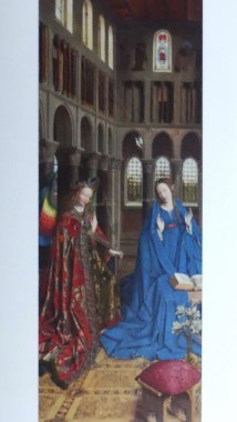 Jan Van Eyck : L'Annonciation