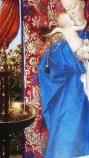 Jan Van Eyck : La Vierge à la fontaine (détails)