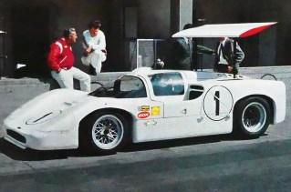 Chaparral 2F Monza 1967 (carte postale)