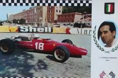Ferrari 312 V12 L.Bandini (carte postale)