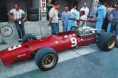 Ferrari 312 V12 C.Amon (carte postale)