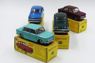 Dinky Toys Afrique du Sud Simca 1000 et Opel Rekord