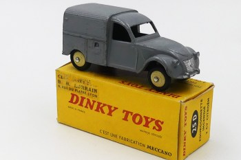 Dinky Toys Citroën 2cv camionnette
