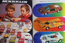 Märklin couverture de catalogue post 68 avec enfants jouant ...aussi avec des Mercury importés