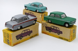 Dinky Toys Inde Triumph Vitesse (chassis Dinky Toys India)
