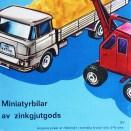 Marklin catalogue pour le marché suédois ! plus austère !