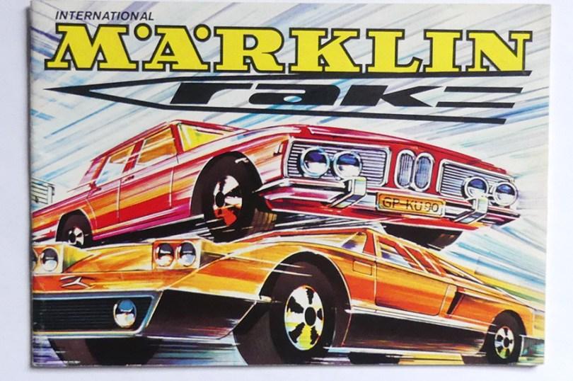 """Marklin catalogue avec la gamme """"rak"""" roues rapides ! cela sent le sapin !"""