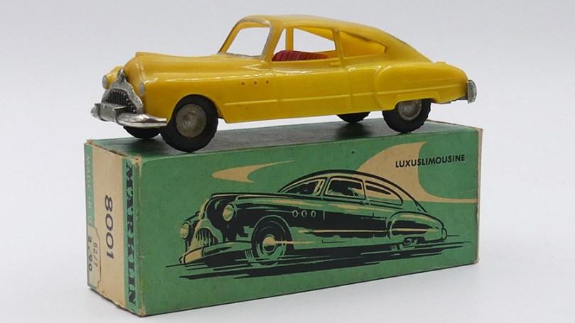 Marklin Buick Roadmaster rare version en plastique !