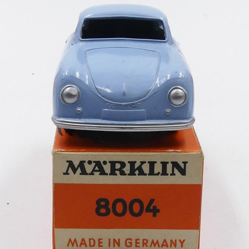 """Marklin Porsche 356 : admirez la gravure """"Porsche"""""""