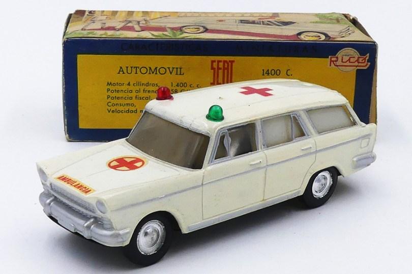 Rico Seat 1400C break ambulancia