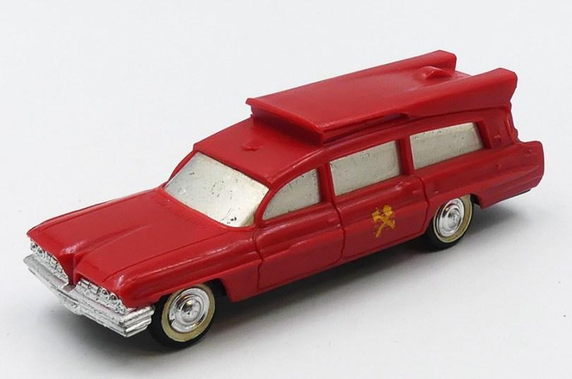 Guisval Pontiac ambulance bomberos (Espagne) sublime !