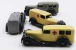 Dinky Toys Bentley ambulance versions d'après guerre